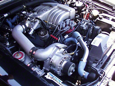 Paxton Novi 1220SI Supercharger System - Satin (86-93 5.0L)