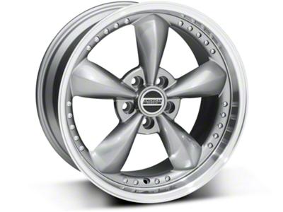 Bullitt Motorsport Anthracite Wheel - 18x9 (87-93 5 Lug Conversion)
