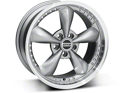 Bullitt Motorsport Anthracite Wheel - 18x9 (87-93 5 Lug Conversion)