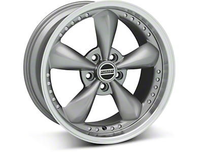 Anthracite Bullitt Motorsport Wheel - 18x9 (05-14 GT,V6)