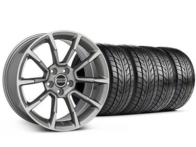 11/12 GT/CS Style Anthracite Wheel & NITTO Tire Kit - 18x9 (99-04 All)