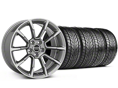 Staggered 11/12 GT/CS Style Anthracite Wheel & NITTO Tire Kit - 18x9/10 (94-98 All)