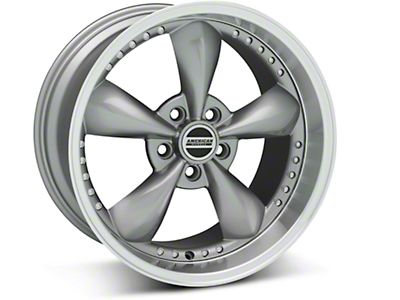 Anthracite Bullitt Motorsport Wheel - 18x10 (94-04 All)