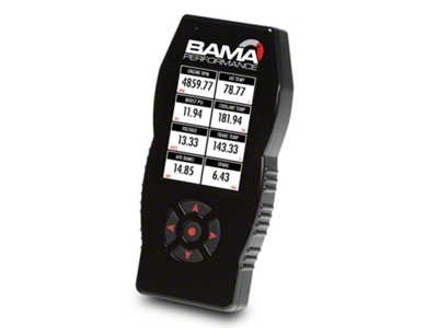 Bama X4/SF4 Power Flash Tuner w/ 3 Custom Tunes (05-10 V6)