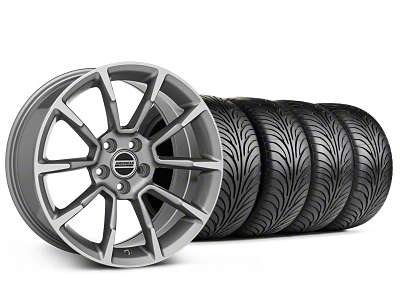 Staggered 11/12 GT/CS Style Anthracite Wheel & Sumitomo Tire Kit - 18x9/10 (99-04 All)
