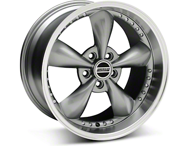 Anthracite Bullitt Motorsport Wheel - 18x10 (05-14 GT, V6)