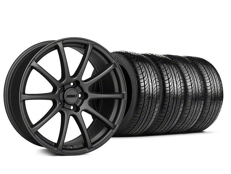 MMD Axim Charcoal Wheel & Pirelli Tire Kit - 19x8.5 (05-14 All)