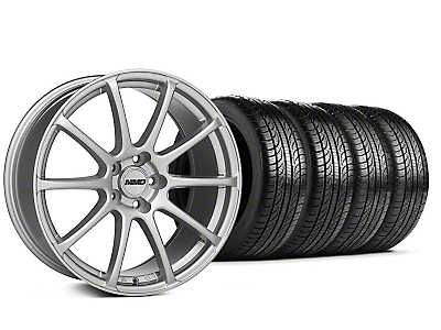 MMD Axim Silver Wheel & Pirelli Tire Kit - 19x8.5 (05-14 All)