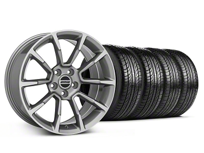 11/12 GT/CS Style Anthracite Wheel & Pirelli Tire Kit - 19x8.5 (05-14 All)