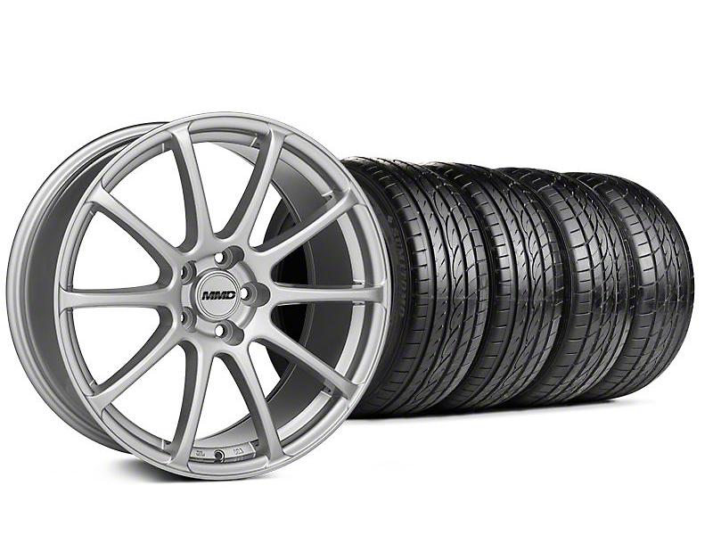 MMD Axim Silver Wheel & Sumitomo Tire Kit - 19x8.5 (05-14 All)