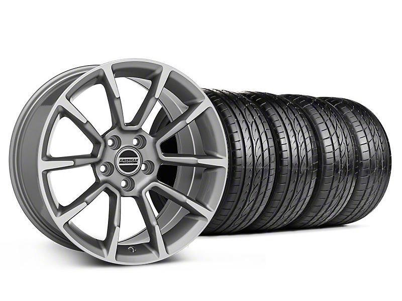 11/12 GT/CS Style Anthracite Wheel & Sumitomo Tire Kit - 19x8.5 (05-14 All)