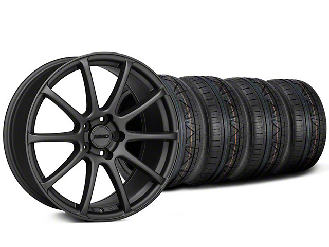 MMD Axim Charcoal Wheel & NITTO INVO Tire Kit - 19x8.5 (05-14 All)