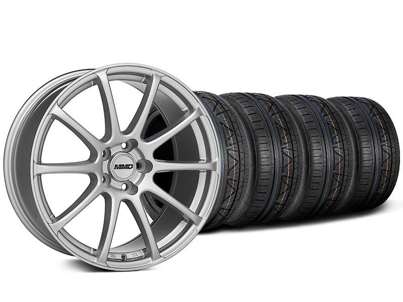 MMD Axim Silver Wheel & NITTO INVO Tire Kit - 19x8.5 (05-14 All)
