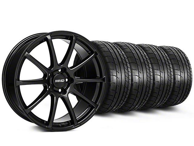 MMD Axim Gloss Black Wheel & Mickey Thompson Tire Kit - 19x8.5 (05-14 All)