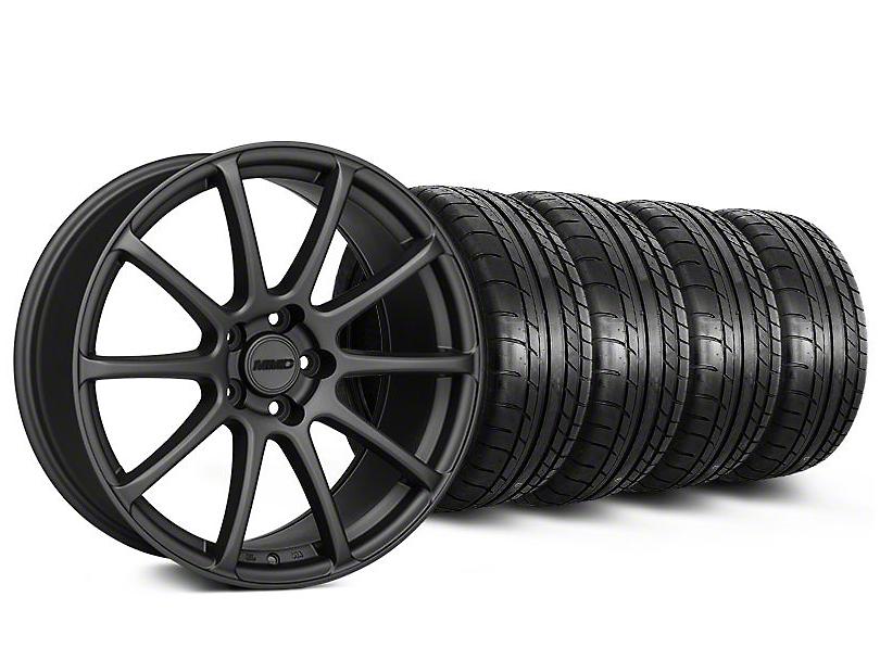 MMD Axim Charcoal Wheel & Mickey Thompson Tire Kit - 19x8.5 (05-14 All)