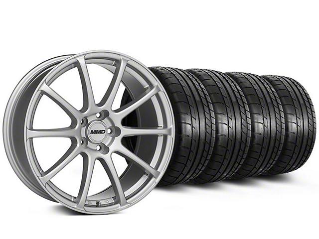 MMD Axim Silver Wheel & Mickey Thompson Tire Kit - 19x8.5 (05-14 All)