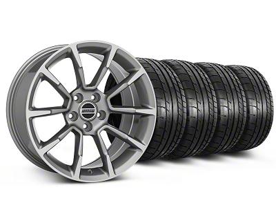 11/12 GT/CS Style Anthracite Wheel & Mickey Thompson Tire Kit - 19x8.5 (05-14 All)