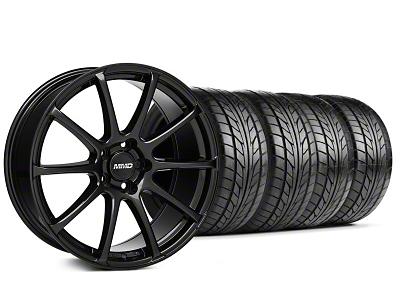MMD Axim Gloss Black Wheel & NITTO Tire Kit - 20x8.5 (05-14 All)