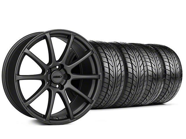 MMD Axim Charcoal Wheel & NITTO Tire Kit - 20x8.5 (05-14 All)