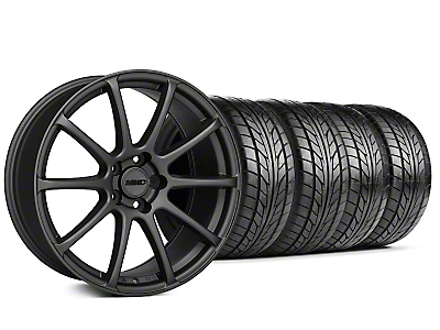 MMD Axim Charcoal Wheel & NITTO Tire Kit - 20x8.5 (05-14 All)