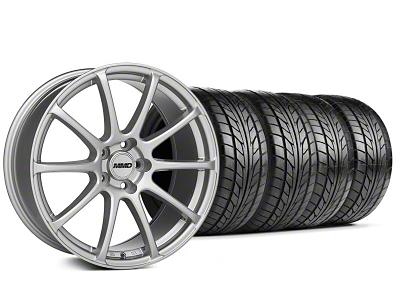 MMD Axim Silver Wheel & NITTO Tire Kit - 20x8.5 (05-14 All)