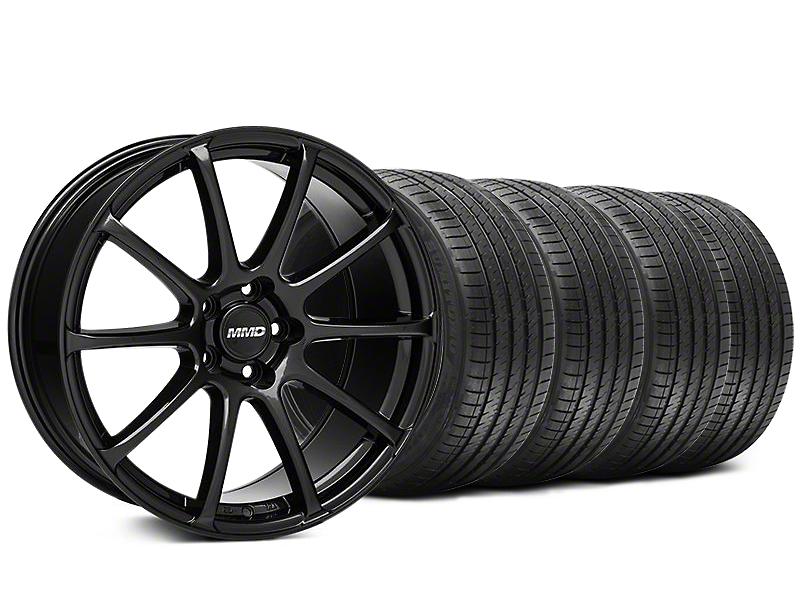 MMD Axim Gloss Black Wheel & Sumitomo Tire Kit - 20x8.5 (05-14 All)