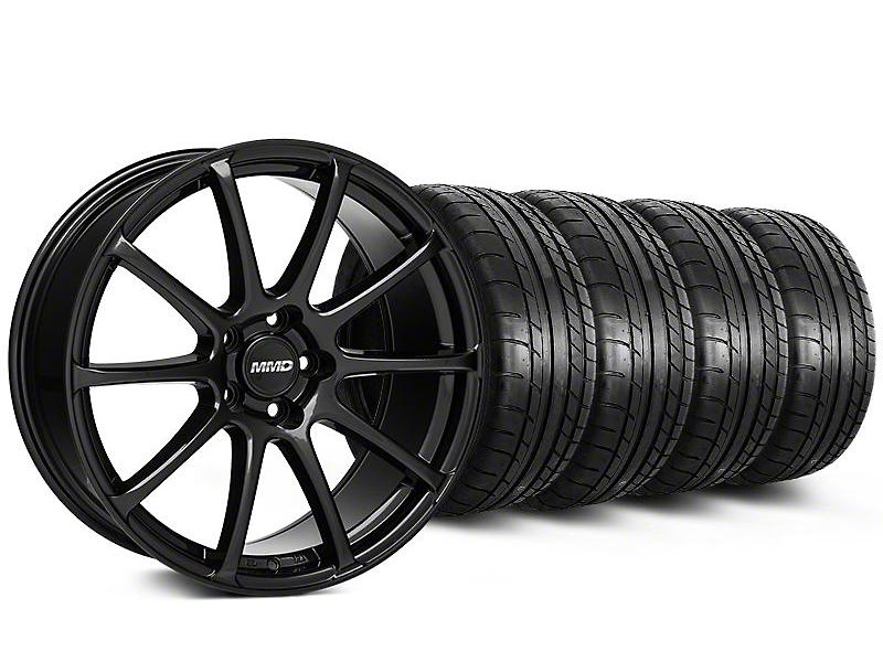 MMD Axim Gloss Black Wheel & Mickey Thompson Tire Kit - 20x8.5 (05-14 All)