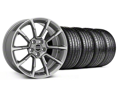 Staggered 11/12 GT/CS Style Anthracite Wheel & Sumitomo Tire Kit - 18x9/10 (05-14 GT, V6)