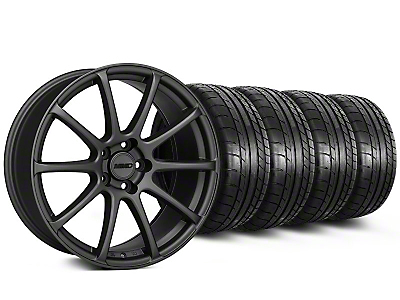 MMD Staggered Axim Charcoal Wheel & Mickey Thompson Tire Kit - 19x8.5/10 (05-14 All)