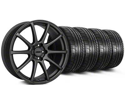 MMD Staggered Axim Charcoal Wheel & Mickey Thompson Tire Kit - 20x8.5/10 (05-14 All)