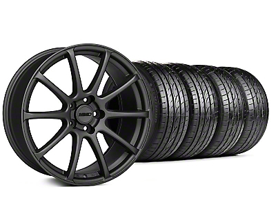 MMD Staggered Axim Charcoal Wheel & Sumitomo Tire Kit - 20x8.5/10 (05-14 All)