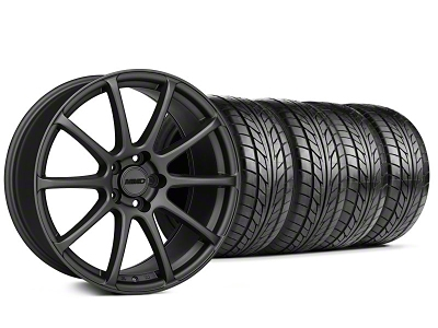 MMD Staggered Axim Charcoal Wheel & NITTO Tire Kit - 20x8.5/10 (05-14 All)