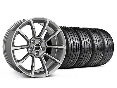 Staggered 11/12 GT/CS Style Anthracite Wheel & Sumitomo Tire Kit - 19x8.5/10 (05-14 All)