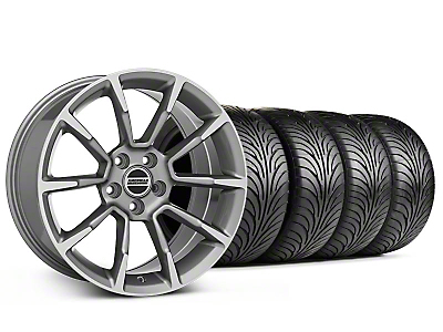 Staggered 11/12 GT/CS Style Anthracite Wheel & Sumitomo Tire Kit - 18x9/10 (94-98 All)