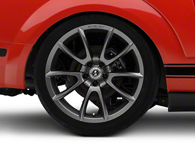 Shelby Super Snake Style Charcoal Wheel - 20x10 (05-14 All)