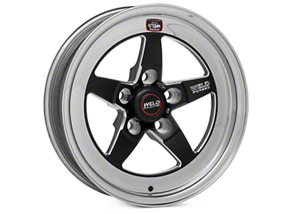 Weld Racing RT-S S71 Black Wheel - 15X4 (94-04 GT, V6)