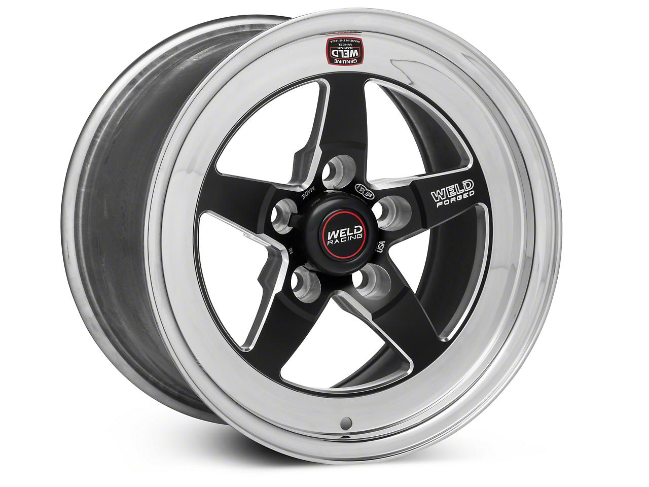 Weld Racing RT-S S71 Black Wheel - 15X9 (94-04 GT, V6)