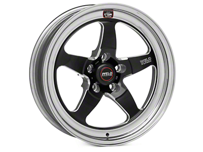 Weld Racing RT-S S71 Black Wheel - 17X5 (11-14 Brembo GT; 12-13 BOSS; 07-12 GT500)