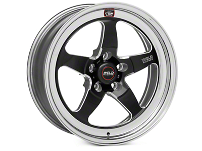 Weld Racing RT-S S71 Black Wheel - 17X7 (11-14 Brembo GT; 12-13 BOSS; 07-12 GT500)