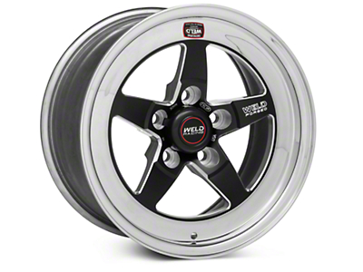 Weld Racing RT-S S71 Black Wheel - 15X8 (05-10 GT, V6)