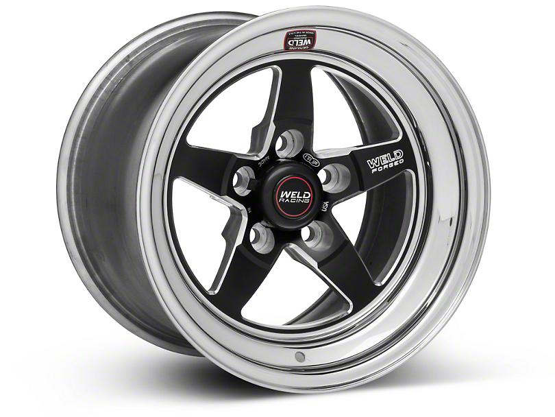 Weld Racing RT-S S71 Black Wheel - 15X10 (05-10 V6; 05-14 GT; 07-12 GT500)