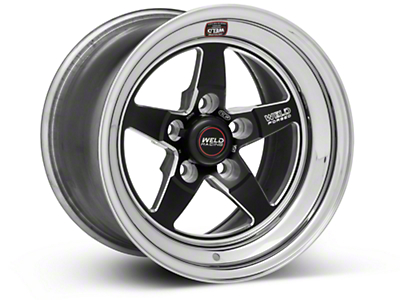 Weld Racing RT-S S71 Black Wheel - 15X10 (05-10 V6; 05-14 GT; 07-12 GT500)