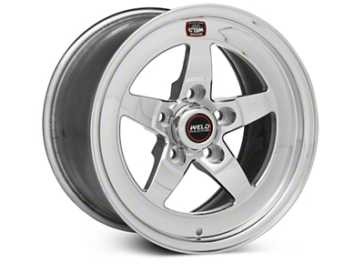 Weld Racing RT-S S71 Polished Wheel - 15X9 (05-10 V6; 05-14 GT; 07-12 GT500)