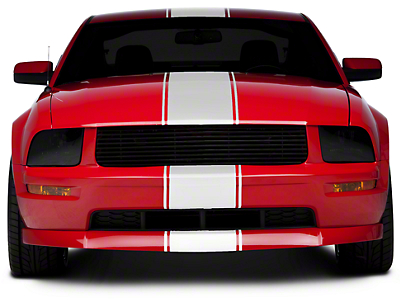 Matte White Super Snake Style Stripe Kit (05-14 All)