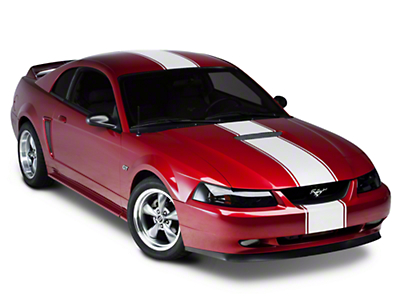 Matte White Super Snake Style Stripe Kit (94-04 All)