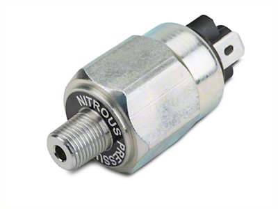 Nitrous Outlet Adjustable Bottle Pressure Switch - 750-1200 PSI (79-14 All)
