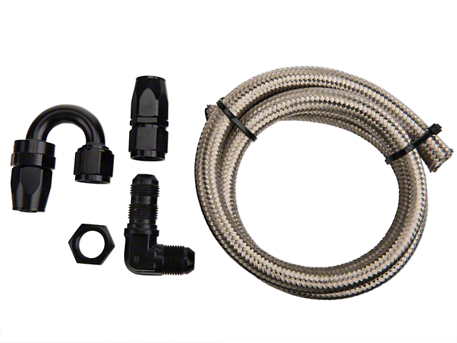 Nitrous Outlet 180 Degree Blow Down Kit - 90 Deg Fitting (79-17 All)