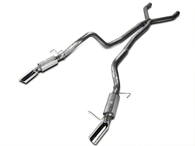 Ford Racing Cat Back Exhaust - 3 Inch (11-14 GT, 11-12 GT500)