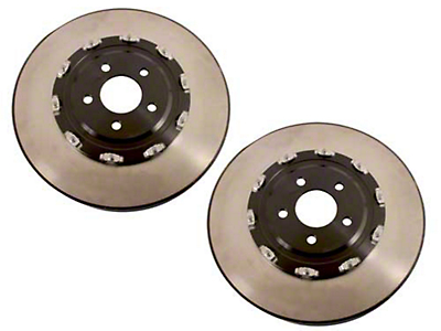 Ford Racing 2-Piece 14 in. Brake Rotors - Front Pair (11-14 GT Brembo, 12-13 BOSS, 07-12 GT500)