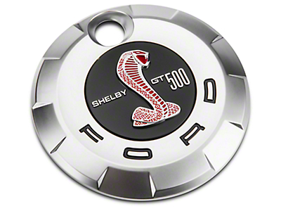 Ford GT500 Rear Decklid Emblem - Red (07-09)